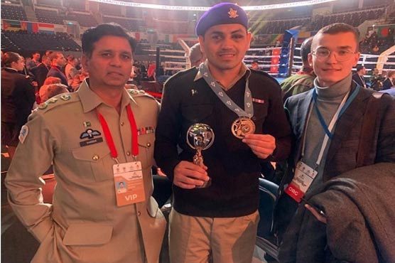 Bronze medal in 58th World Military Boxing Championship