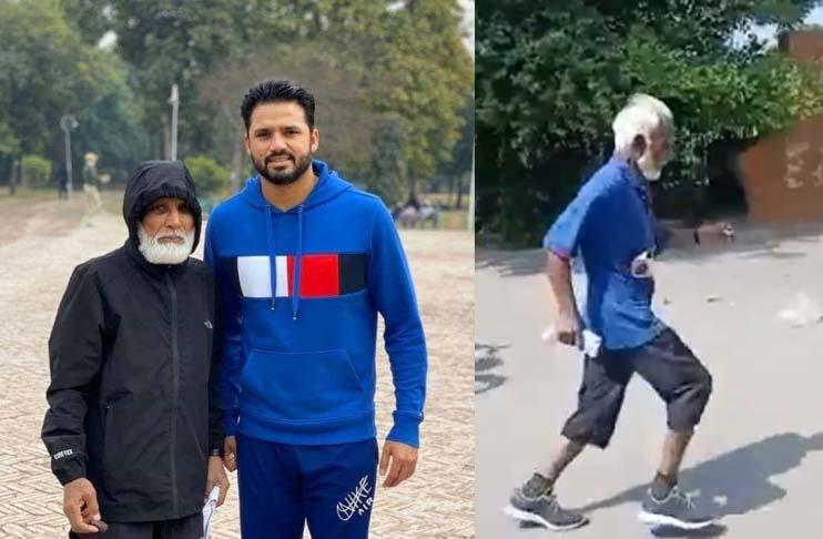 Pakistan's Test batter Azhar Ali's 76-year-old father wins gold in Sheikhpura's marathon