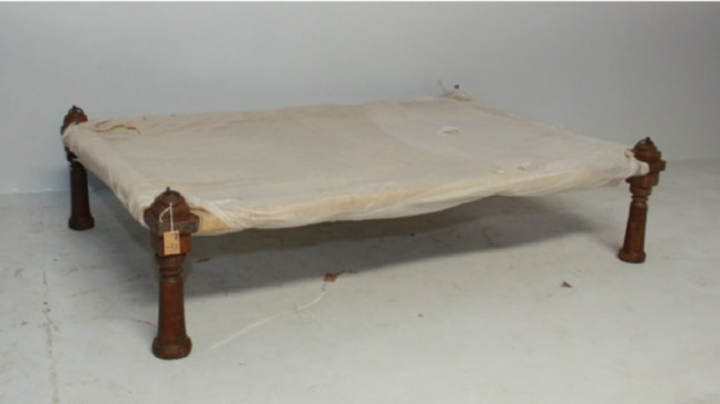 New Zealand Furniture Store sells 'charpai' as 'Vintage Indian Daybed'
