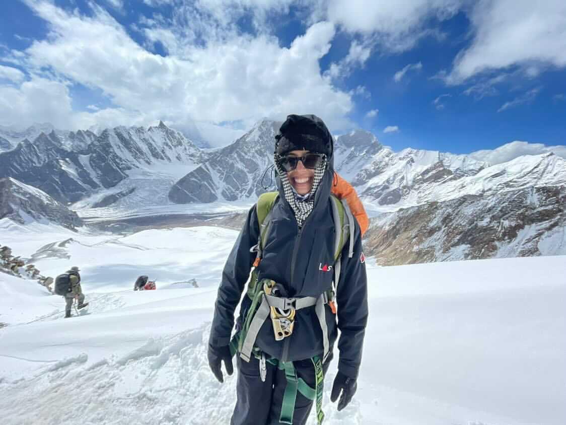 Saba Haleem becomes first Pakistani woman to summit Gondogoro Peak