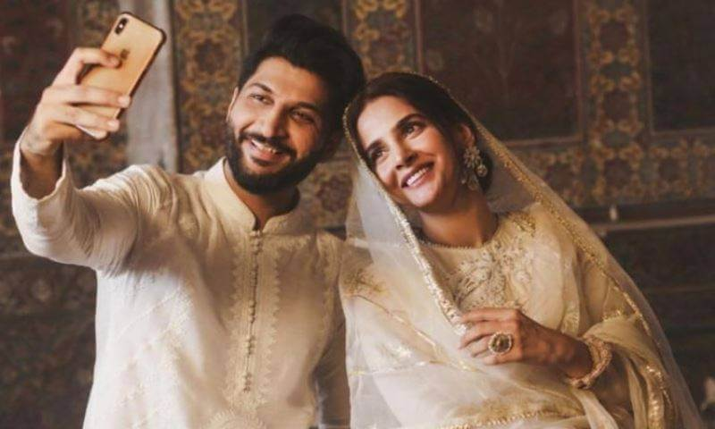 Arrest warrants issued for Saba Qamar and Bilal Saeed for shooting music video in historic Wazir Khan mosque