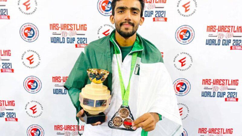 Muhammad Saad wins bronze medal