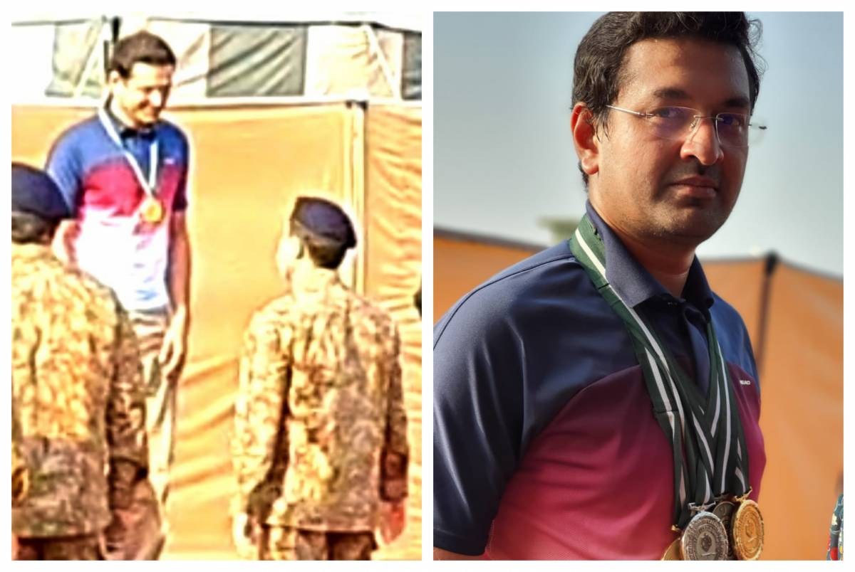 Usman Ali becomes Pakistan's new shooting champion by breaking all previous records