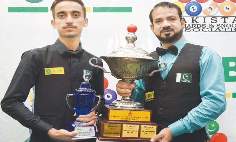Muhammad Sajjad sets record by winning fourth national snooker championship