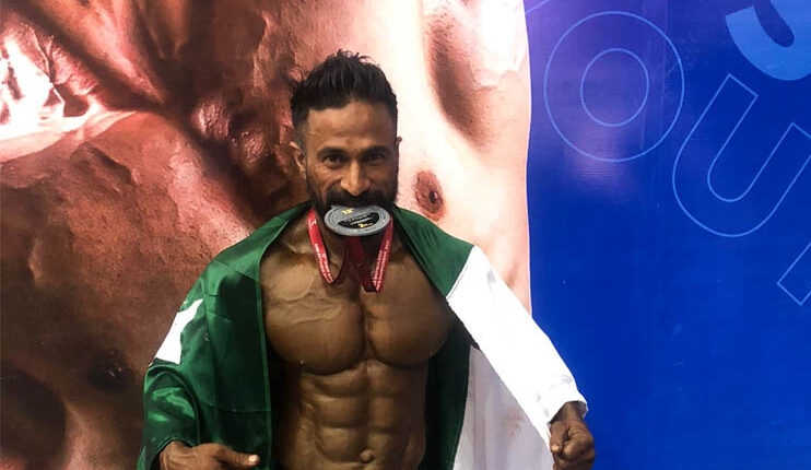 bodybuilder Shehzad Qureshi