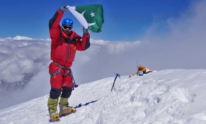 Sirbaz Khan becomes first Pakistani to summit 9 of world's 14 highest mountains
