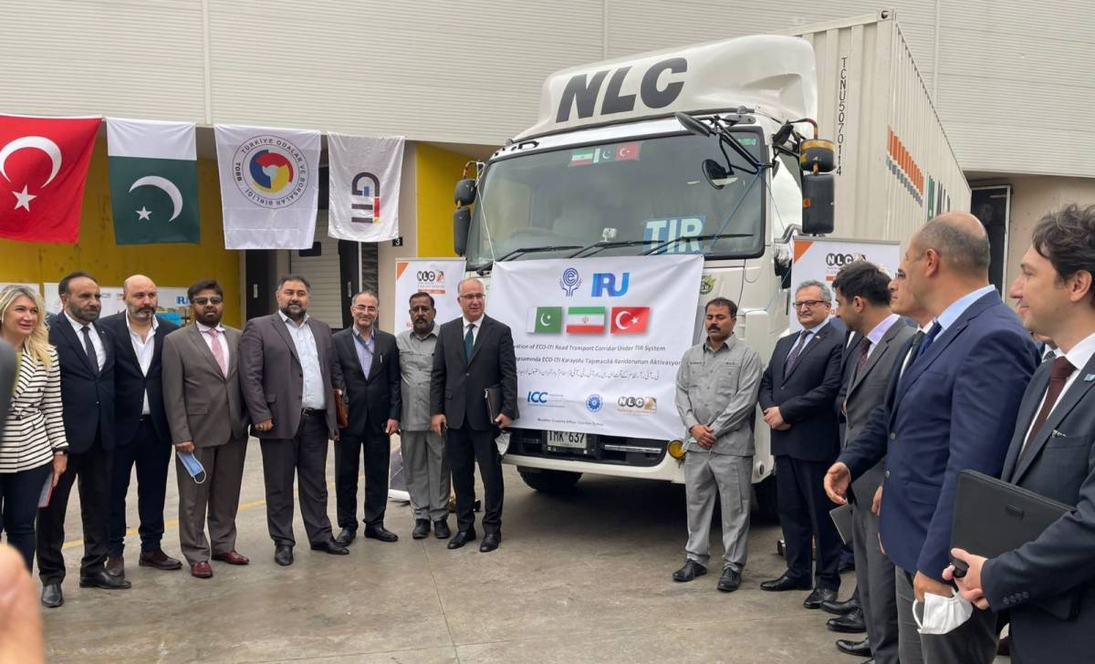 First Pakistani truck makes delivery in Turkey through Islamabad-Tehran-Istanbul corridor