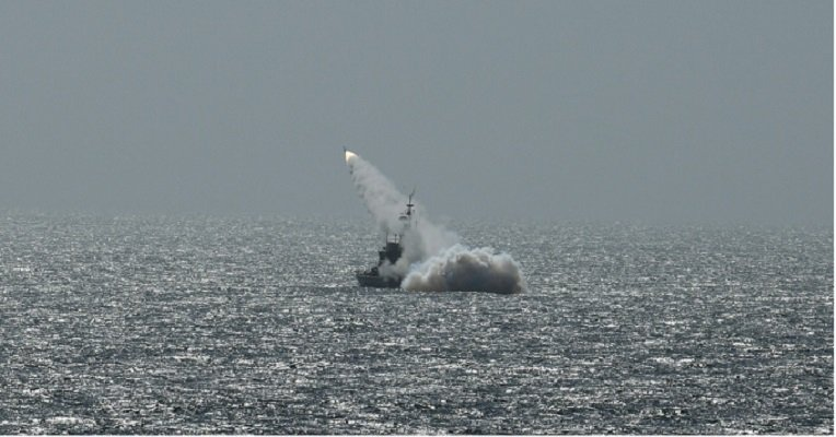 Pakistan Navy conducts successful live weapons firings of anti-ship missiles in North Arabian Sea